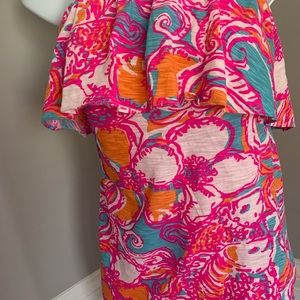 Lilly Pulitzer Tops - Beautiful Lilly Pulitzer Strapless Top